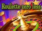 Roulette zero less