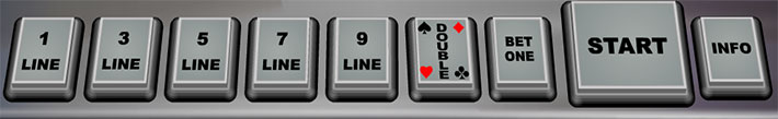 кнопки игрового автомата