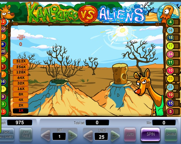 Kangaroo vs. Aliens бесплатно без регистрации